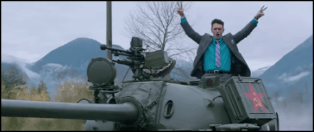 James Franco offends North Korea in the Hollywood Comedy The Interview
