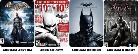 Arkham-titles