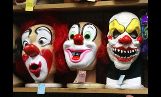 clown-masks