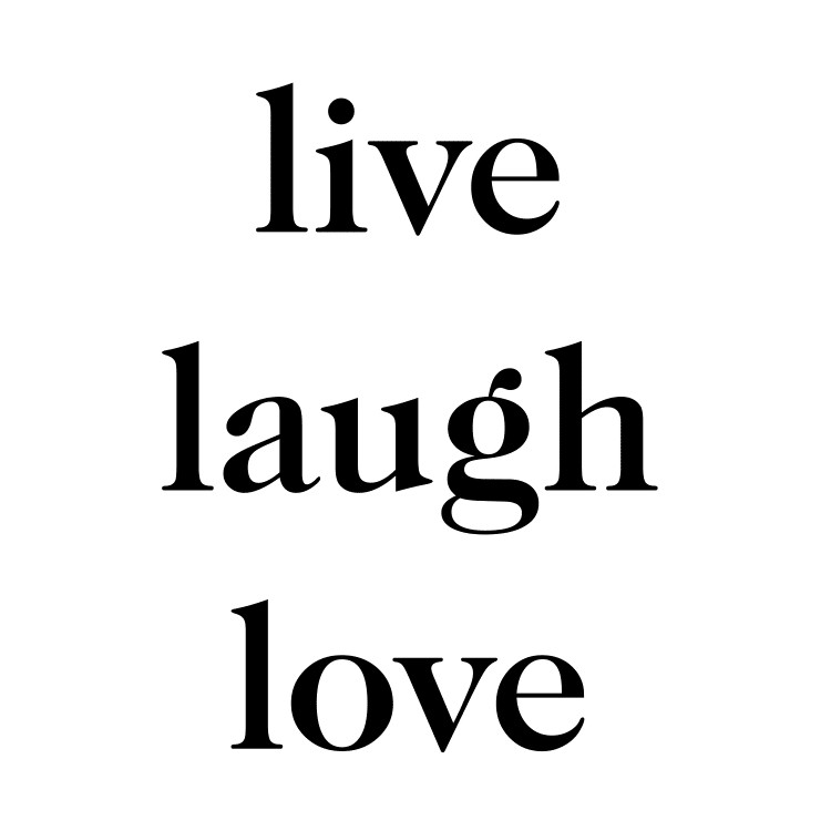 Download Live Laugh Love Free SVG Files - World of Printables