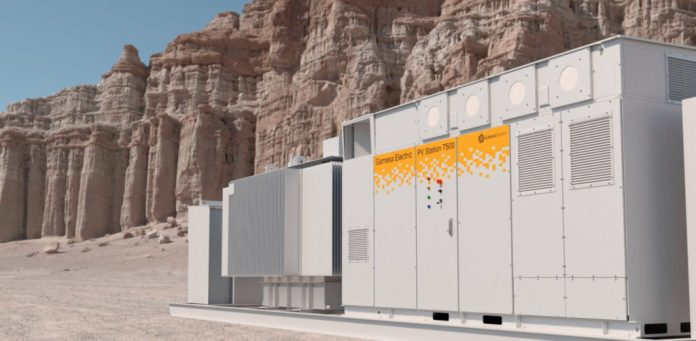 New solar inverter Gamesa Electric PV 3750