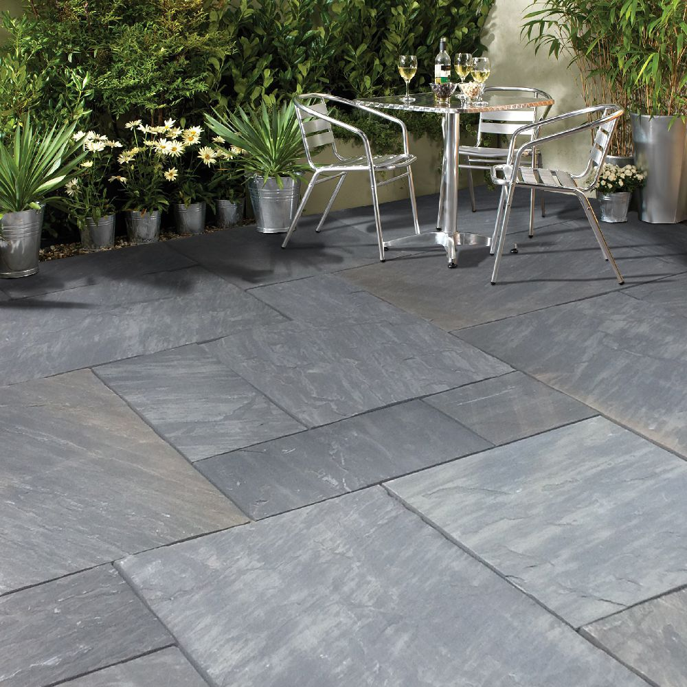 natural stone pavers premia collection cloudy black