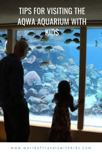 Tips For Visiting The AQWA Aquarium With Kids