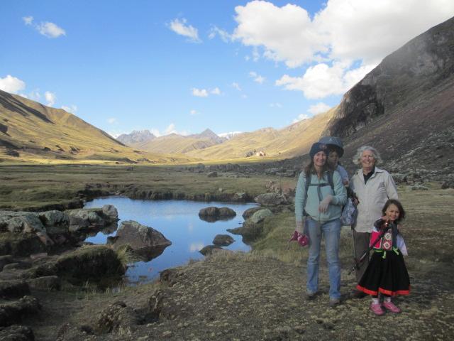 Peru Lodge to Lodge Trekking with Kids