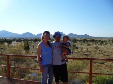 The Olgas View Point