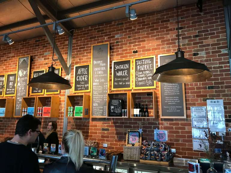 Cheeky Monkey Brewery Margaret River Review