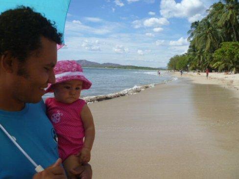Papa on Playa Tamarindo