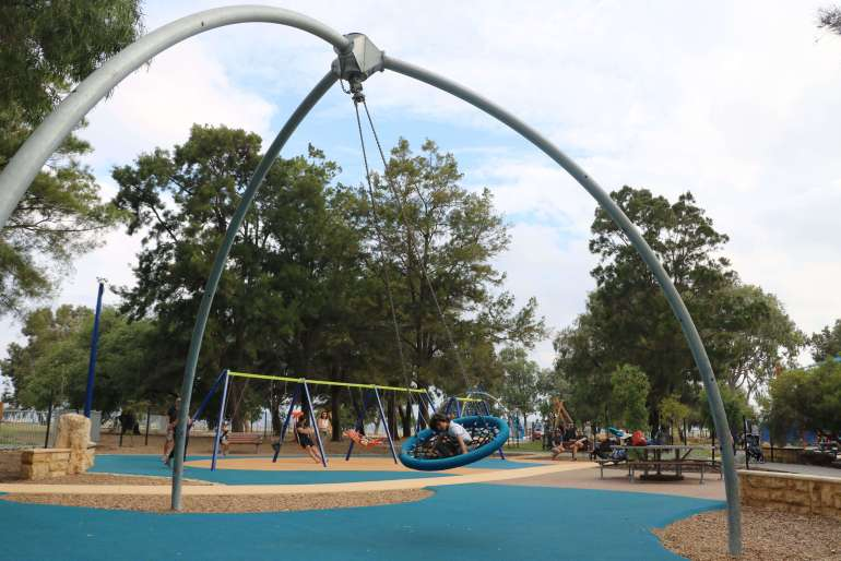 Jo Wheatley All Abilities Playground - a great place for a few hours!