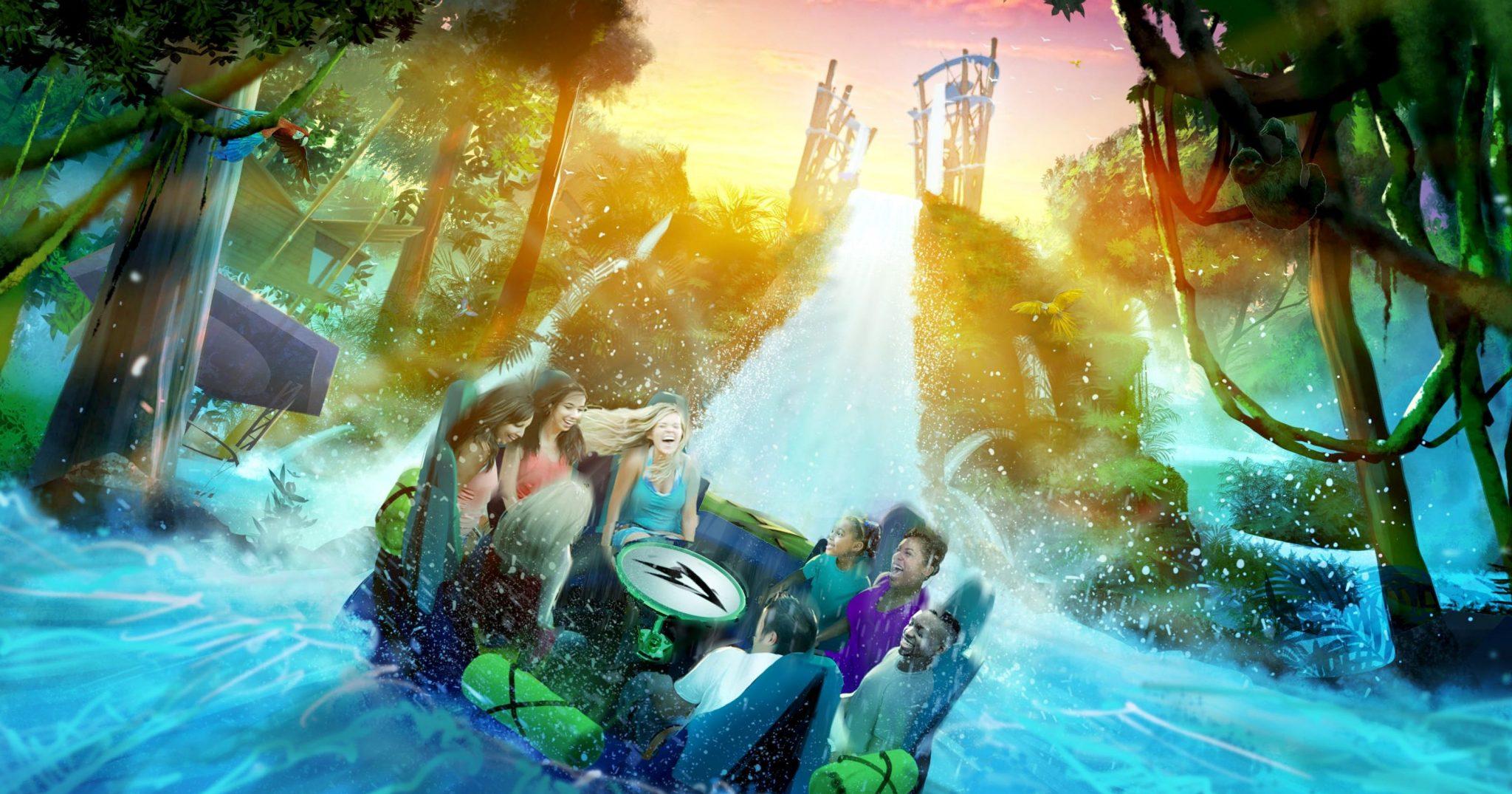 Ride Review: Infinity Falls at SeaWorld Orlando | World of