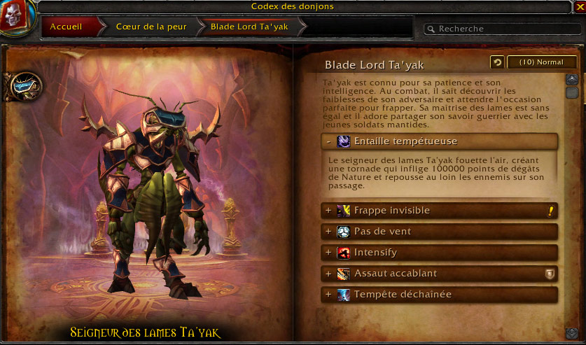 Blade Lord Ta'yak (Coeur de la Peur).