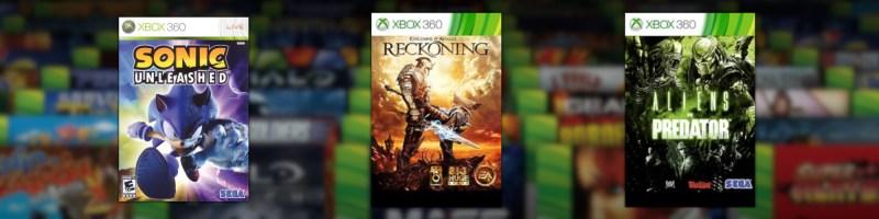 Wsteczna kompatybilność Xbox One nowe gry
