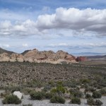 Red Rock Canyon Sandstone Quarry from the distance12