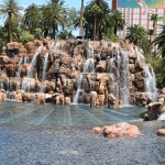 Waterfall on Las Vegas strip12