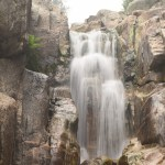 Waterfall in a rock valley with low aperture12