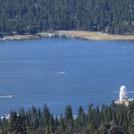 Big Bear Lake with the observatory12