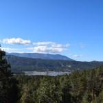 View at Big Bear Lake from a trail12