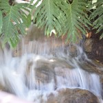 Small waterfall with low shutter speed12