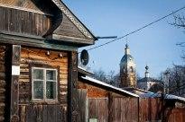 Neighborhood in Suzdal, Western Russia