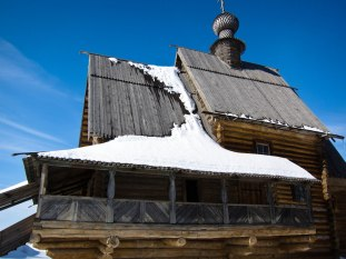 Suzdal, Russia is known for woodworking