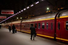 Overnight train to St. Petersburg