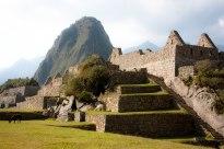 Machu Picchu as the sun sets and an alpaca! Peru