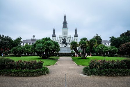 Historic Jackson Square in the heart of the French Quarter