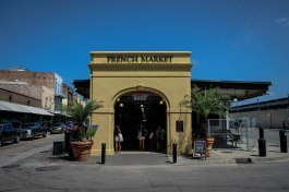 Entrance to the French Market in the French Quarter, New Orleans