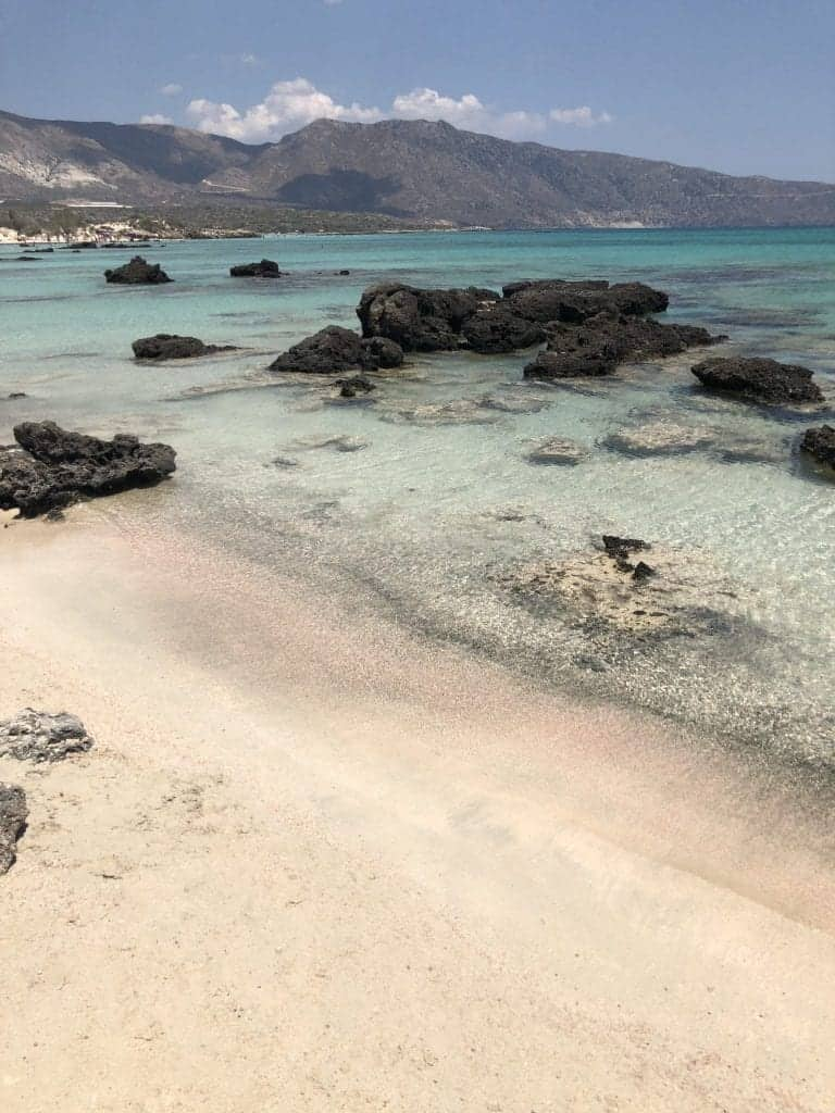 Elafonissi Beach Travel Guide To Pink Beach Crete World On A Whim