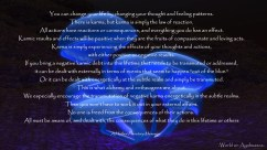 -World on Ayahuasca- Karma
