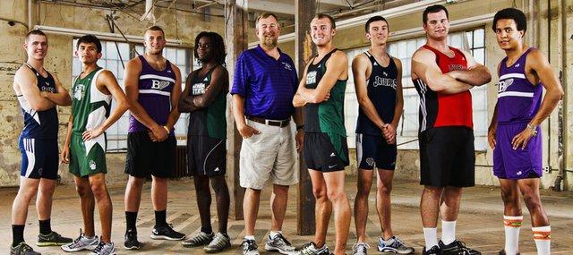 2012 Journal World All Area Boys Track Team