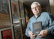 """Grant Goodman, a longtime professor of history at Kansas University who died in 2014, is pictured at his home in Brandon Woods Retirement Community in this 2007 file photo. Goodman contributed a chapter to the book """"Legacies of the Comfort Women of World War II"""" about his wartime translation work for the U.S. Army that documented Japanese military brothels. That report is now archived at KU&squot;s Spencer Research Library."""