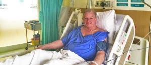 Hospital Ward after surgery