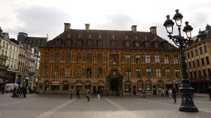 Lille's Old Stock Exchange