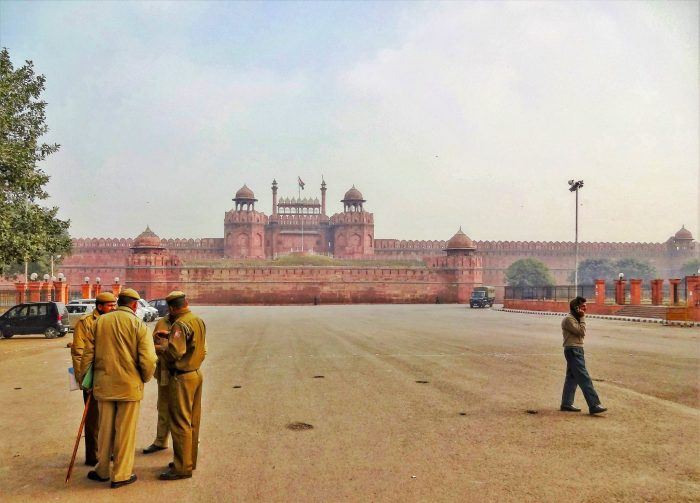 The Red Fort near Old Delhi