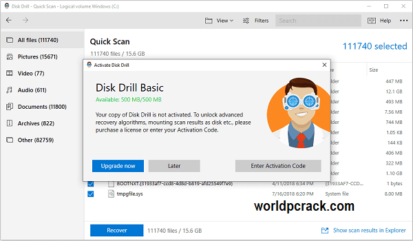 Disk Drill 4.3.585.0 Crack With Activation Code Free Download