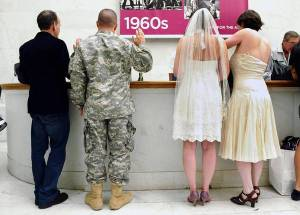 Gay-Lesbian-Marriages-Military