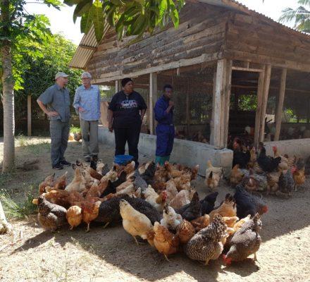 While in Vikawe, Tanzania