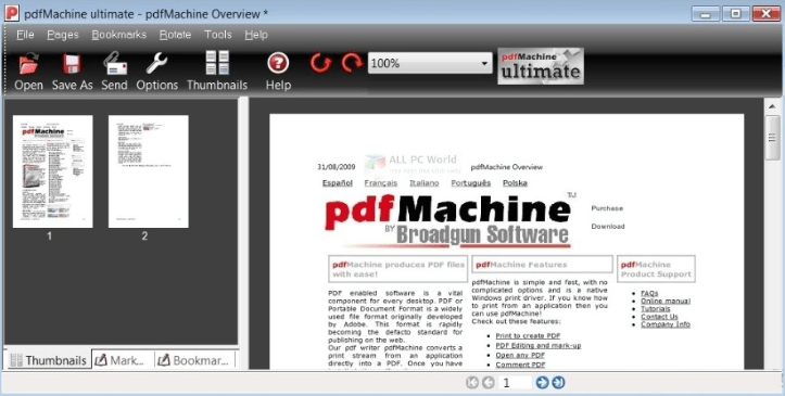 pdfMachine Ultimate 15 free download