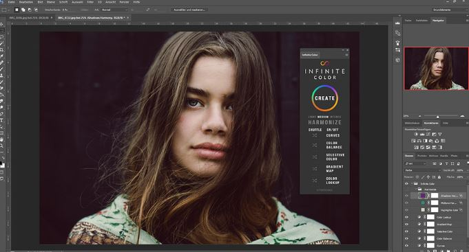 Infinite Color Panel Plug-in for Photoshop Free Download