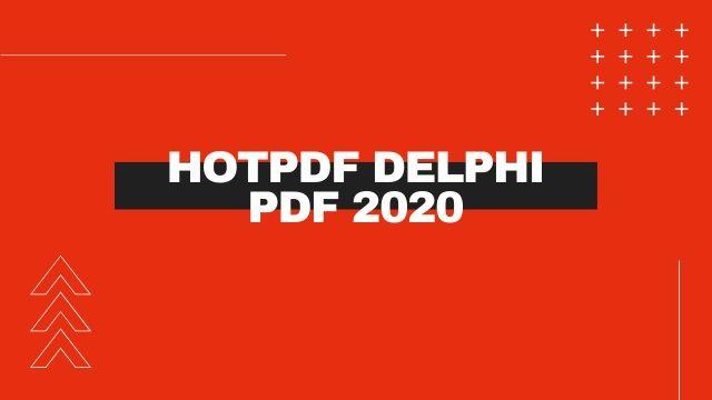 HotPDF Delphi PDF