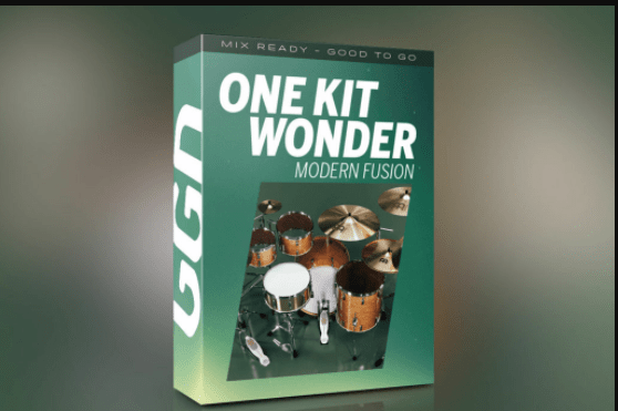 GetGood the Drums – the One Kit Wonder: MODERN the FUSION (KONTAKT) Overview