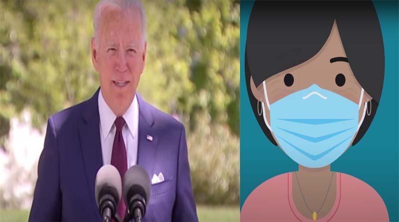 Joe Biden say to wear mask