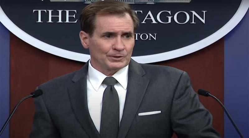 Pentagon spokesperson John Kirby