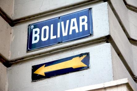 Bsas Streetsign Bolivar