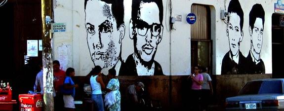 Dead Student Mural Leon