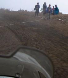 Ecuador Road Block