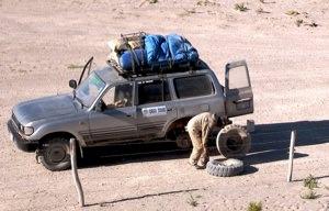 Flat Tire Salar