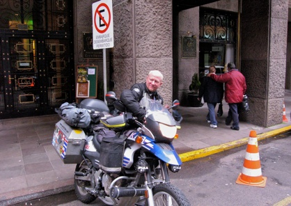 Leaving Ctyhotel Portoalegre