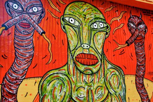 San Telmo Graffiti