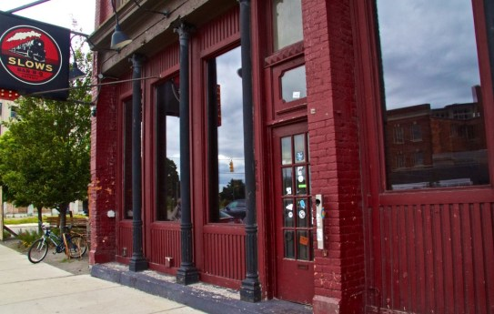 Legendary Slows Bar BQ, Corktown Detroit